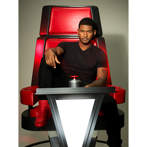 THE VOICE USHER