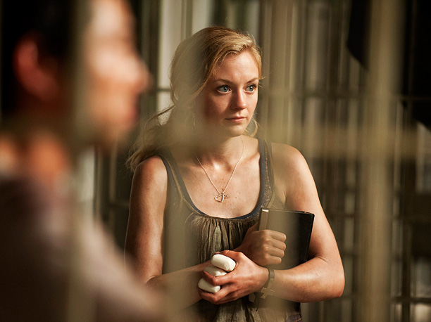 Sweet Beth Greene has a key advantage in the death sweepstakes: She's almost never on the front lines of zombie fighting. She also has a…