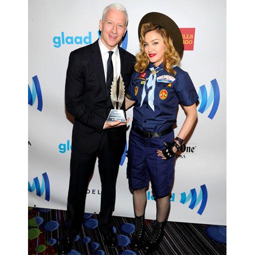 Anderson Cooper Madonna