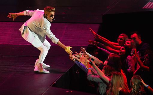 Bieber London Concert