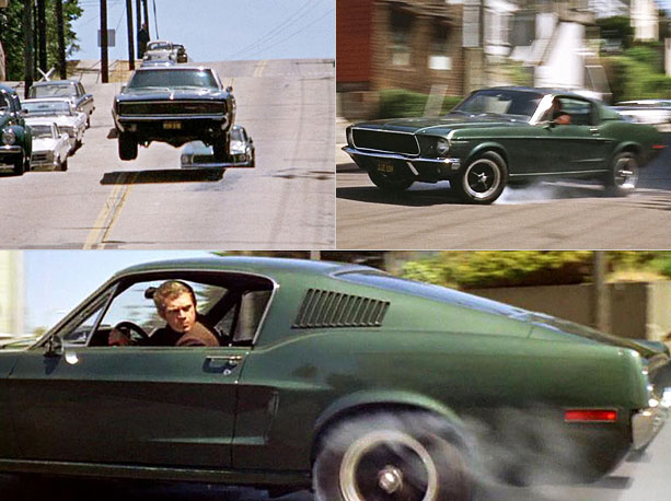 It's simple math: Steve McQueen plus a V8 Mustang plus the hilly streets of San Francisco equals 10 of the most heart-pounding minutes in movie…