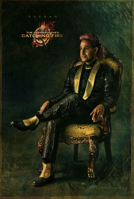 Catching Fire Poster Caesar
