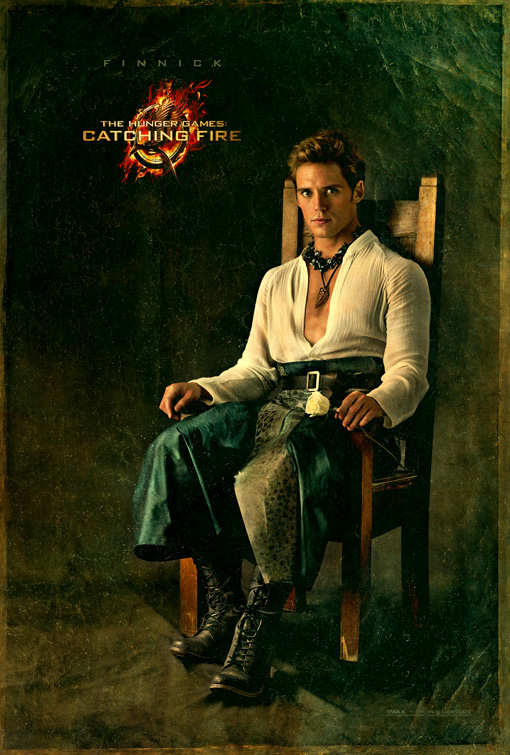 Catching Fire Poster Finnick