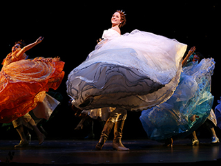 BELLE OF THE BALL Laura Osnes as Cinderella
