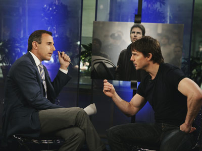 Matt Lauer, Tom Cruise | Bouncing on Oprah's couch was a little odd, but it was Tom Cruise's leap into a heated debate over the mental-health profession that really puzzled…