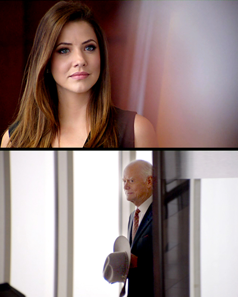 Seeing Cliff's manipulative daughter Pamela trying to weasel her way into Ewing Energies, J.R. paid a visit. ''I'm just here to look my enemy in…