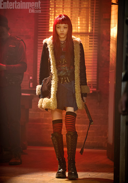 CapeTown, First Look, ... | While in Japan, Wolverine is befriended by Yukio (newcomer Rila Fukushima). Says Mangold, ''I would say they have a unique relationship. She's lethal herself.''