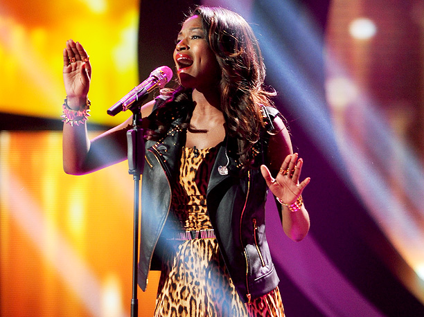 Amber's chosen mostly big diva ballads, so the theme might work against her this week; plus she got the final spot last time for ''A…