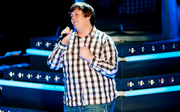 The Voice | One of the series' first true throat-clenchers: Jeff Jenkins' mom died and then he came on the show, a fact which he used to bust…