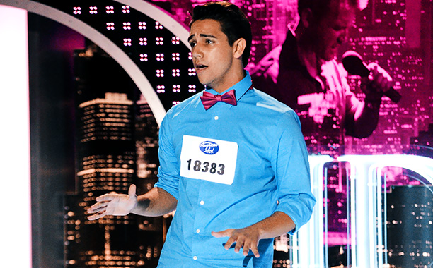 American Idol | The Cuban-born ice cream scooper, 21, has suffered an extreme stutter since childhood — he was bullied at school, grew up with few friends, and…