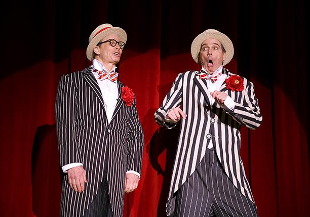 OLD HATS Bill Irwin and David Shiner