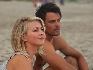 'SAFE' AND SOUND Julianne Hough and Josh Duhamel frolic on a coastline in the latest Nicholas Sparks adaptation