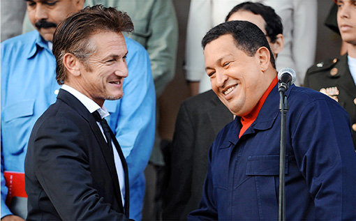 Senn Penn And Hugo Chavez