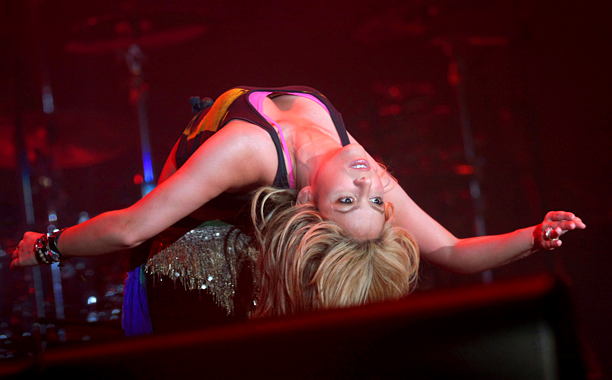 Shakira | Give the audience a good look at what's underneath your clothes.