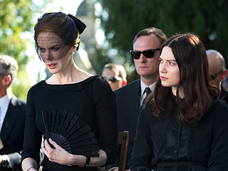 'STOKING' THE FIRE Nicole Kidman and Mia Wasikowska star in the thrilling Stoker