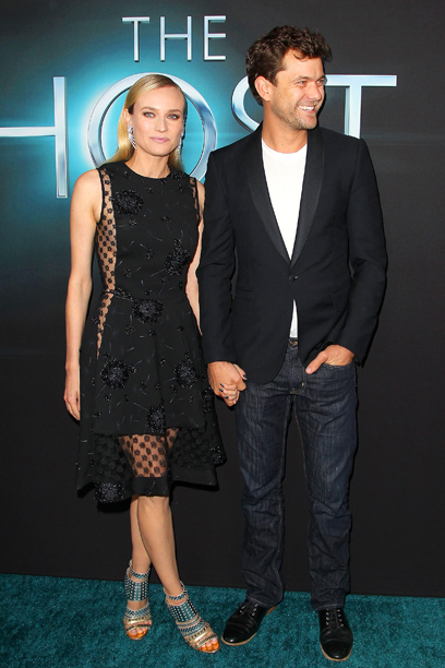 Diane Kruger (in Thakoon) and Joshua Jackson