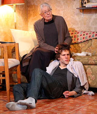 THE REVISIONIST Jesse Eisenberg and Vanessa Redgrave star in Eisenberg's promising new Off Broadway drama