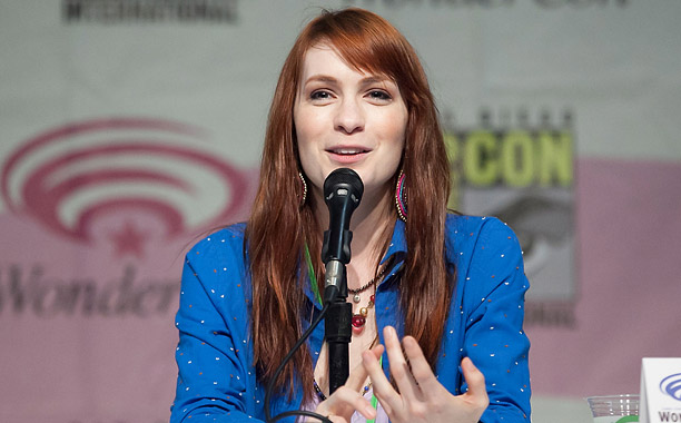 Felicia Day (''Geek and Sundry Panel of Awesomeness'')