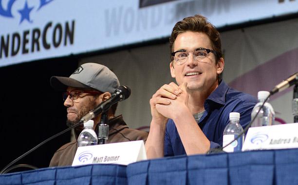James Tucker and Matt Bomer (Superman: Unbound)