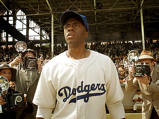 'FORTY TWO' Chadwick Boseman plays the iconic Jackie Robinson in this stellar biopic