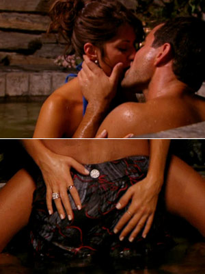 The Bachelor | How far did she go? We'll never know! Jillian Harris and Jason Mesnick have both kept mum about their aquatic adventure on season 13. —…