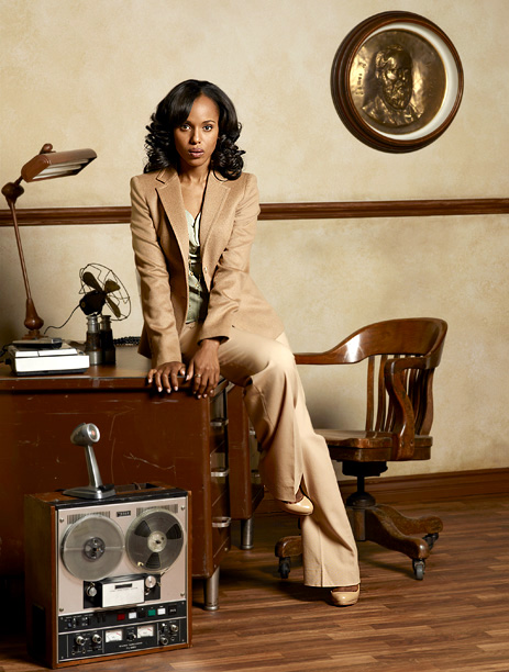 Scandal, Kerry Washington | ABC, 2012-present Sure, actress Kerry Washington could make a potato sack look good, but it's Lyn Paolo's immaculate eye that keeps things interesting week after…
