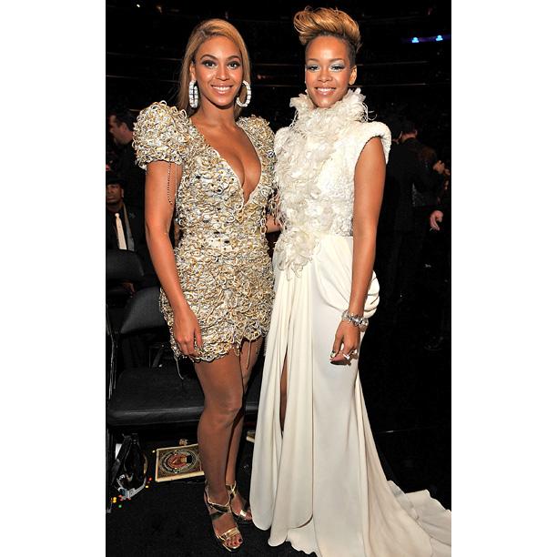 Beyonce And Rihanna 2010 Grammy