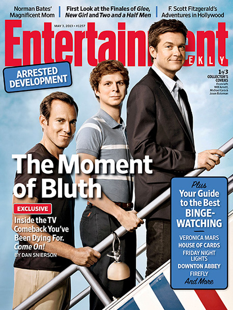 Arrested Development | For more on the return of Arrested Development , pick up this week's copy of EW on newsstands, buy it here , or subscribe .
