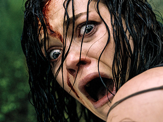 'EVIL DEAD' Jane Levy stars along Shiloh Fernandez in the remake of this cult classic.