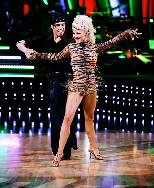 Dancing With the Stars | Julianne breathed new excitement into DWTS in season 4 with her whip-fast choreography and bubbly chemistry with Apolo Anton Ohno. She's worn many different sequined…