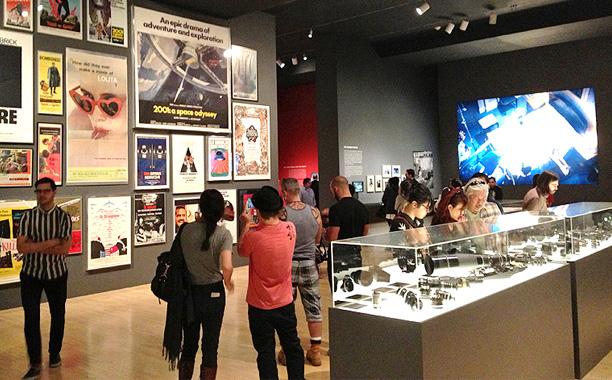Kubrick LACMA Exhibit