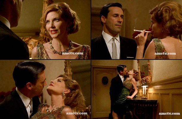 Mad Men | Don doesn't let anyone get the better of him — least of all, not the wife/manager of one of the comedians working for his firm.…