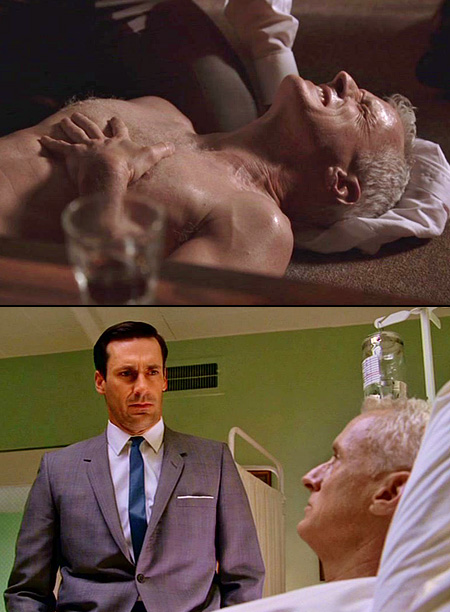 Mad Men   It wasn't just that Don found Roger lying on the floor with his pants down after a sudden heart attack (Labor Day weekend and set…