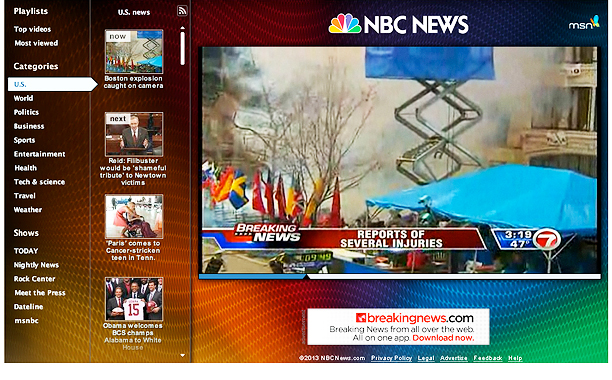 NBC NEWS BOSTON EXPLOSION