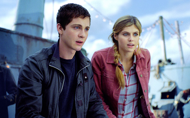 Movie Guide, Logan Lerman, ... | In this sequel to 2010's $88 million-grossing Percy Jackson & the Olympians: The Lightning Thief , Logan Lerman returns as Percy — the half-human son…