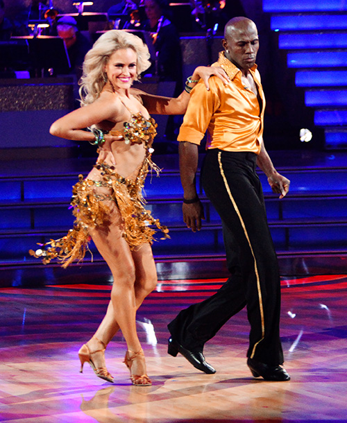 Dancing With the Stars | She could have been just another sexy stranger after getting eliminated first with Metta World Peace. Instead, the Aussie sorceress's dazzling sparkle spell on the…