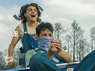 Movie Guide | PRINCE OF LINES Emile Hirsch and Paul Rudd form an unlikely friendship repainting the traffic lines on a country highway in the middle of nowhere