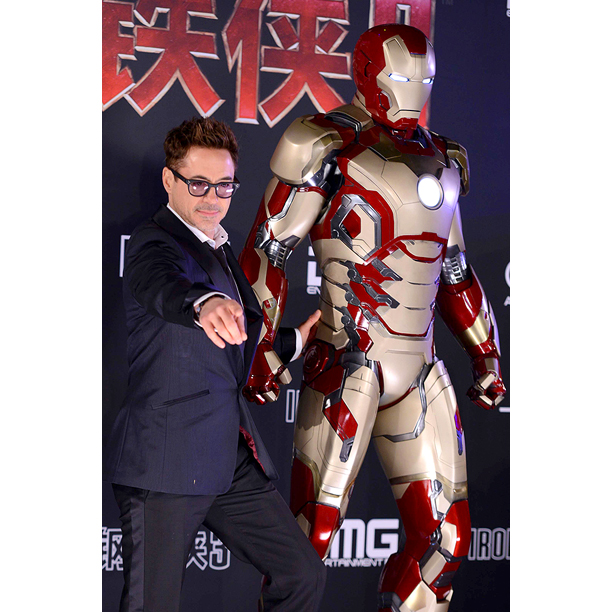 Robert Downey Jr China