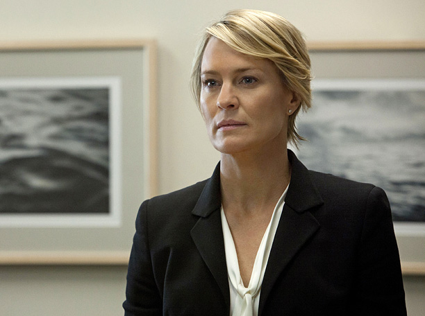 Imagine Lady Macbeth styled by Prada — that's Wright's Claire Underwood. The power-hungry wife of the equally Machiavellian Frank Underwood (Kevin Spacey), Claire was never…
