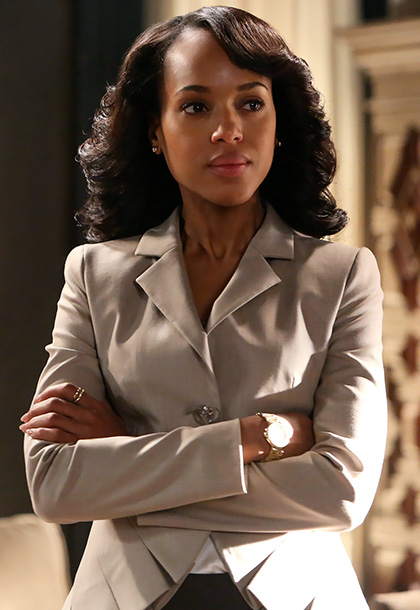 Scandal | Why are audiences so obsessed with what Olivia Pope (Kerry Washington) is wearing? ''It's a combination of Kerry Washington being so amazing, so stunning, and…