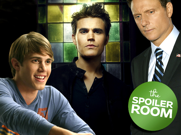 Spoiler Room Glee Vampire Diaries Glee