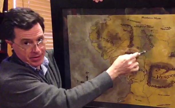 Stephen Colbert Hobbit