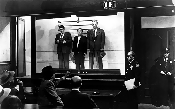 The Asphalt Jungle | THE SETUP To pull off a meticulously plotted robbery, criminal mastermind ''Doc'' Erwin Reidenschneider (Sam Jaffe) rounds up a gang that includes hired gun Dix…