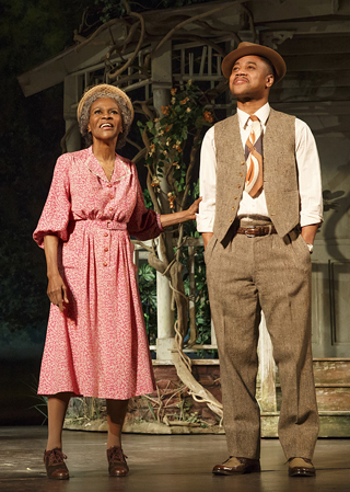THE TRIP TO BOUNTIFUL Cicely Tyson and Cuba Gooding Jr.