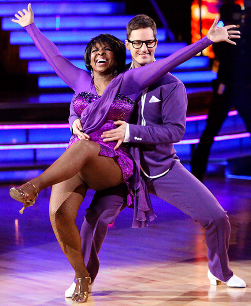 Dancing With the Stars | Awww. There's never enough Tristan! After three lovely but slow and very patient seasons with Nancy Grace, Gladys Knight (shown), and Dorothy Hamill, plus one…