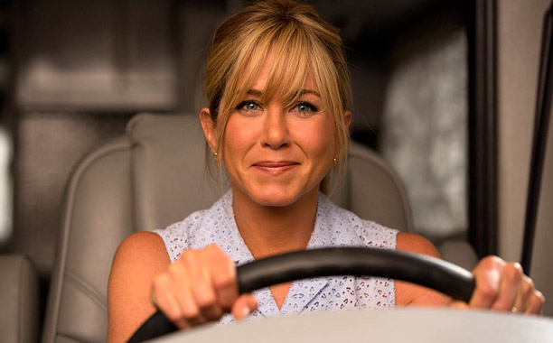 Movie Guide, Jennifer Aniston, ... | Family road-trip movie! Well, not quite. Jason Sudeikis plays a small-fry dope dealer who gets in over his head and suddenly must transport 1,500 kilos…