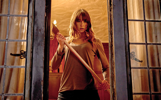 Movie Guide, You're Next | What links 2010's dancefest Step Up 3D to the upcoming scarefest You're Next ? That would be Australian actress Sharni Vinson, who claims the training…