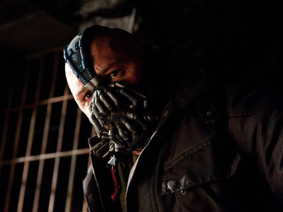 Tom Hardy, The Dark Knight Rises | Tom Hardy The Dark Knight Rises (2012) Bane gets plenty of vileness points for his ruthless willingness to sacrifice his own men and having the…