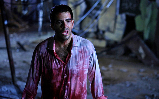 CHILE CON CARNAGE Eli Roth cowrote and stars in earthquake disaster movie Aftershock