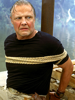 Jon Voight, Anaconda | If Don Corleone were a Paraguayan snake hunter (are you listening, Hollywood? This is gold!), he might sound a bit like Voight's cartoonish villain. —…